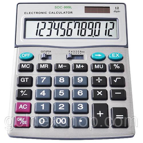 Калькулятор CITIZEN 999, двойное питание