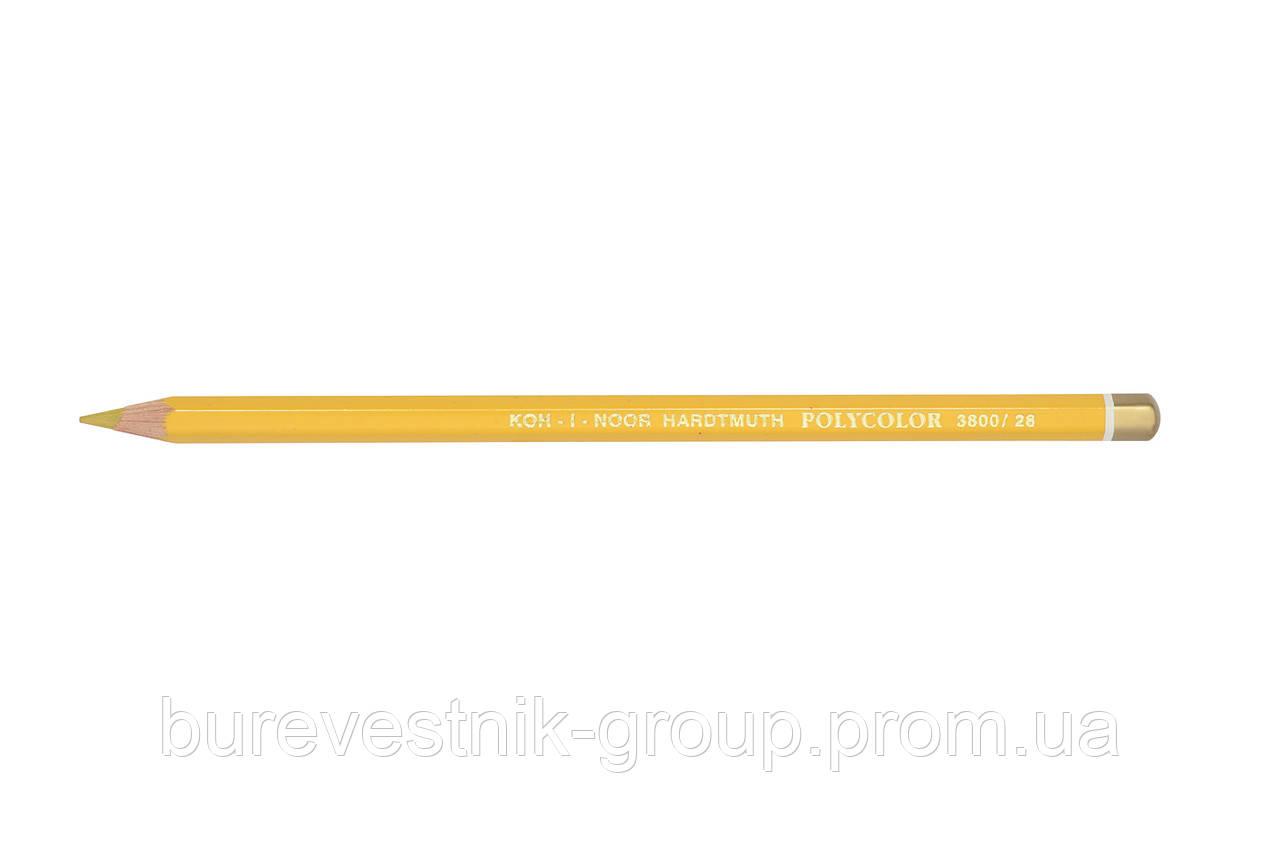 """Цветной художественный карандаш Koh-I-Noor """"Polycolor"""" GOLD OCHRE (3800/28)"""