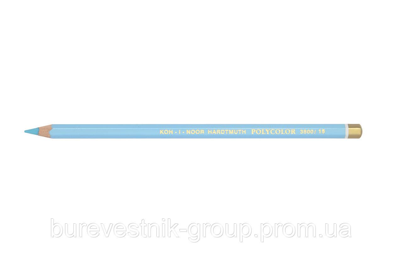 """Цветной художественный карандаш Koh-I-Noor """"Polycolor"""" ICE BLUE (3800/15)"""