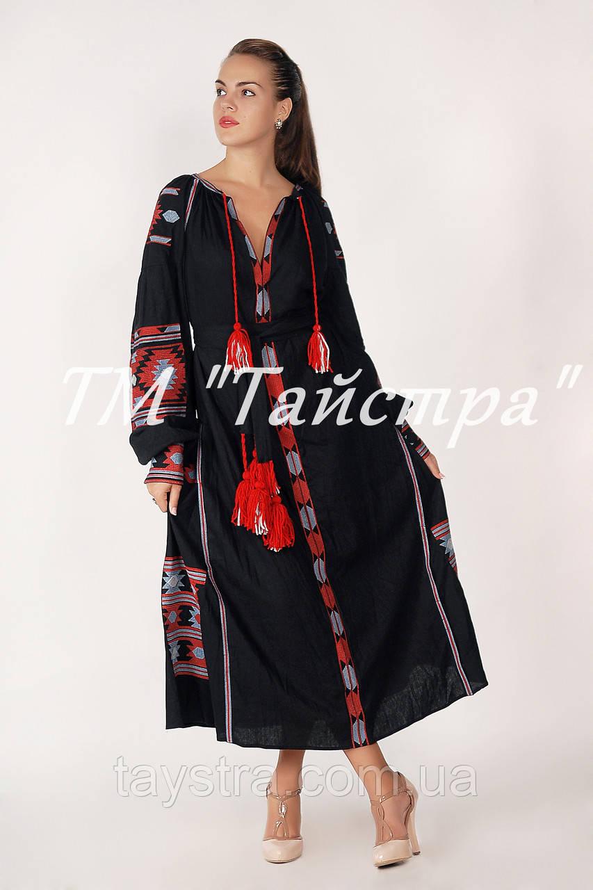 Платье лен бохо вышиванка, этно, бохо-стиль, вишите плаття вишиванка, Bohemian