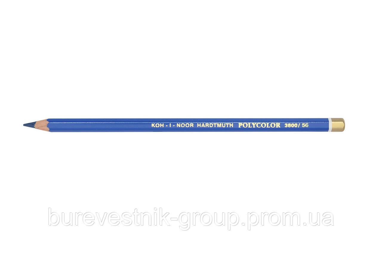 """Цветной художественный карандаш Koh-I-Noor """"Polycolor"""" INDIGO BLUE (3800/56)"""