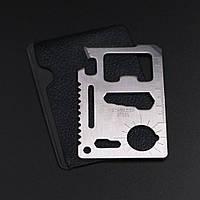Подарок выживальщику мультитул кредитная карта открывачка карточка брелок EDС ЭДС