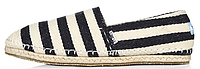 Мужские эспадрильи Toms Томс черные/белые