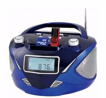 Радио, переносной бумбокс RX 669Q функция плеера, фото 2