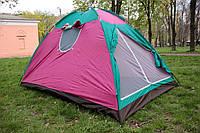 Палатка летняя туристическая 8-ми местная 280х280х150см.