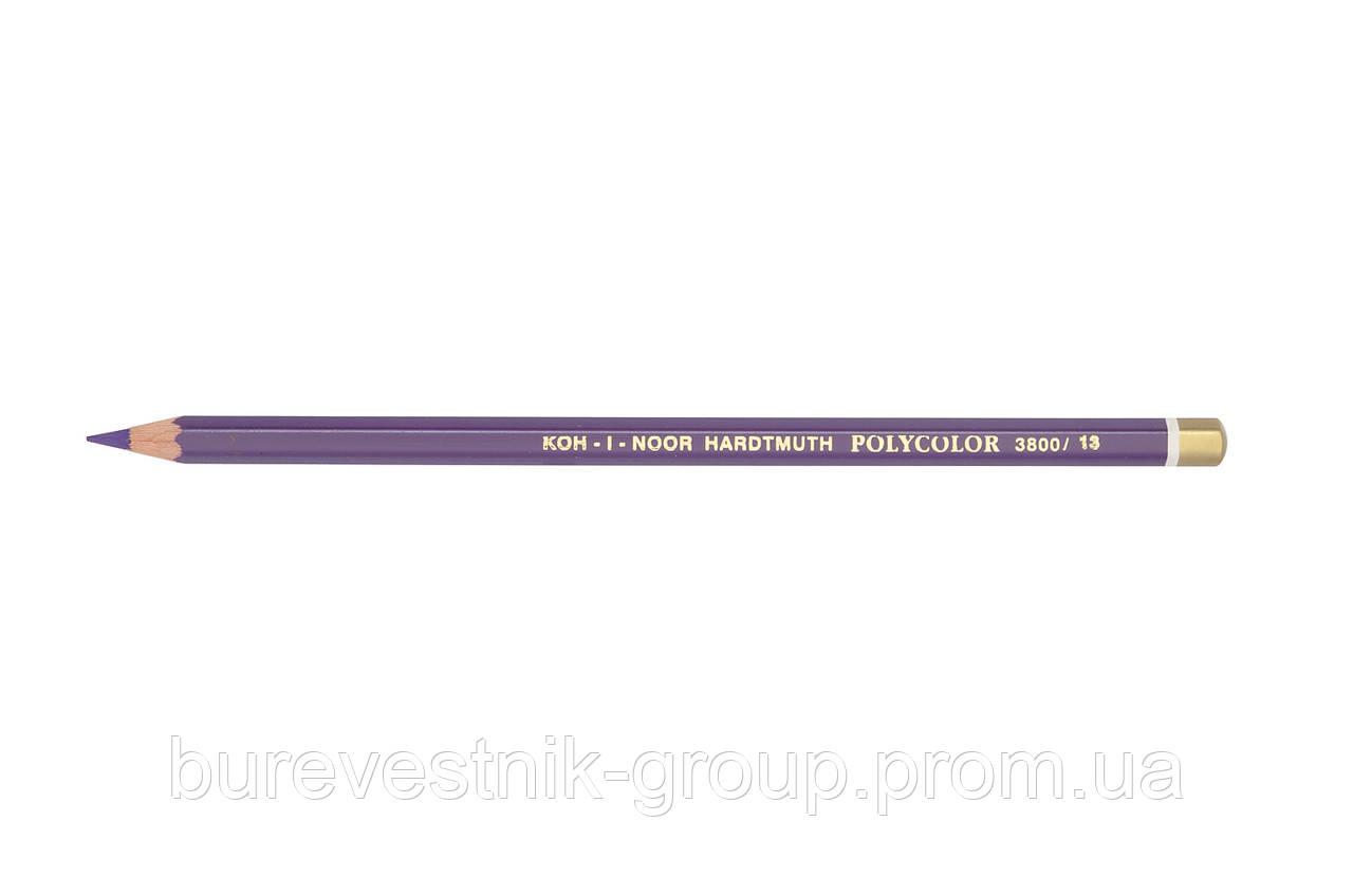 """Цветной художественный карандаш Koh-I-Noor """"Polycolor"""" MEDIUM VIOLET (3800/13)"""