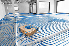 Труба для теплого пола 16х2.0 KAN-therm PE-RT Blue Floor