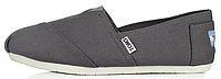 Женская летняя обувь 2017 эспадрильи Toms Grey Томсы серые