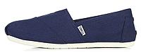 Женская летняя обувь 2017 эспадрильи Toms синие