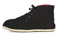 Женская летняя обувь 2017 Toms черные