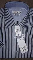 Мужская рубашка с коротким рукавом Nens Classic Silver