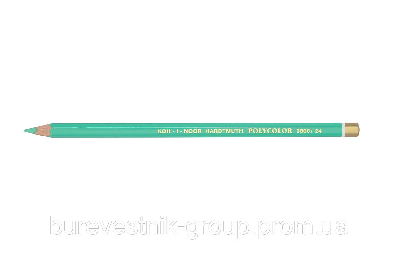 """Цветной художественный карандаш Koh-I-Noor """"Polycolor"""" PEA GREEN (3800/24)"""