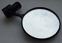 Зеркало заднего вида на руль велосипеда зеркальце дзеркало в ручку руля для обзора