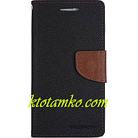 Чехол Book Cover Goospery Lenovo Vibe C2 Black