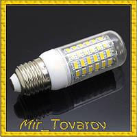 25W Светодиодная лампа 69LED E27 большие диоды. 7w