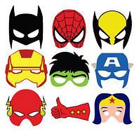 Герои в масках 3 Вафельная картинка