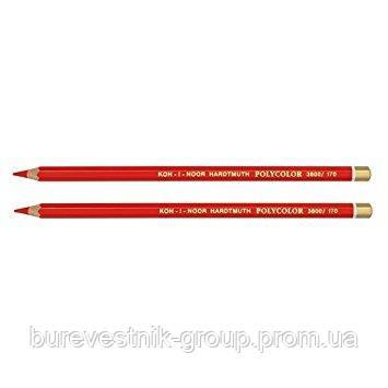 """Цветной художественный карандаш Koh-I-Noor """"Polycolor"""" PYRROLE RED (3800/17)"""