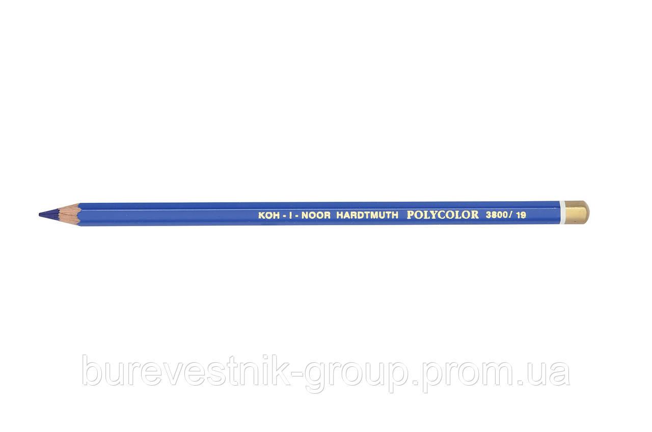 """Цветной художественный карандаш Koh-I-Noor """"Polycolor"""" SAPPHIRE BLUE (3800/19)"""