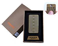 Спиральная USB зажигалка Make №4695-1, практичный и модный аксессуар, безотказная работа, нет газа и бензина