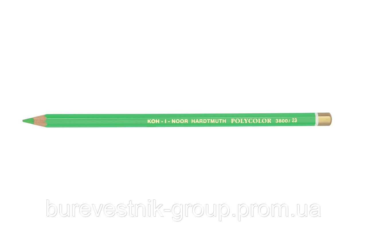 """Цветной художественный карандаш Koh-I-Noor """"Polycolor"""" SPRING GREEN (3800/23)"""