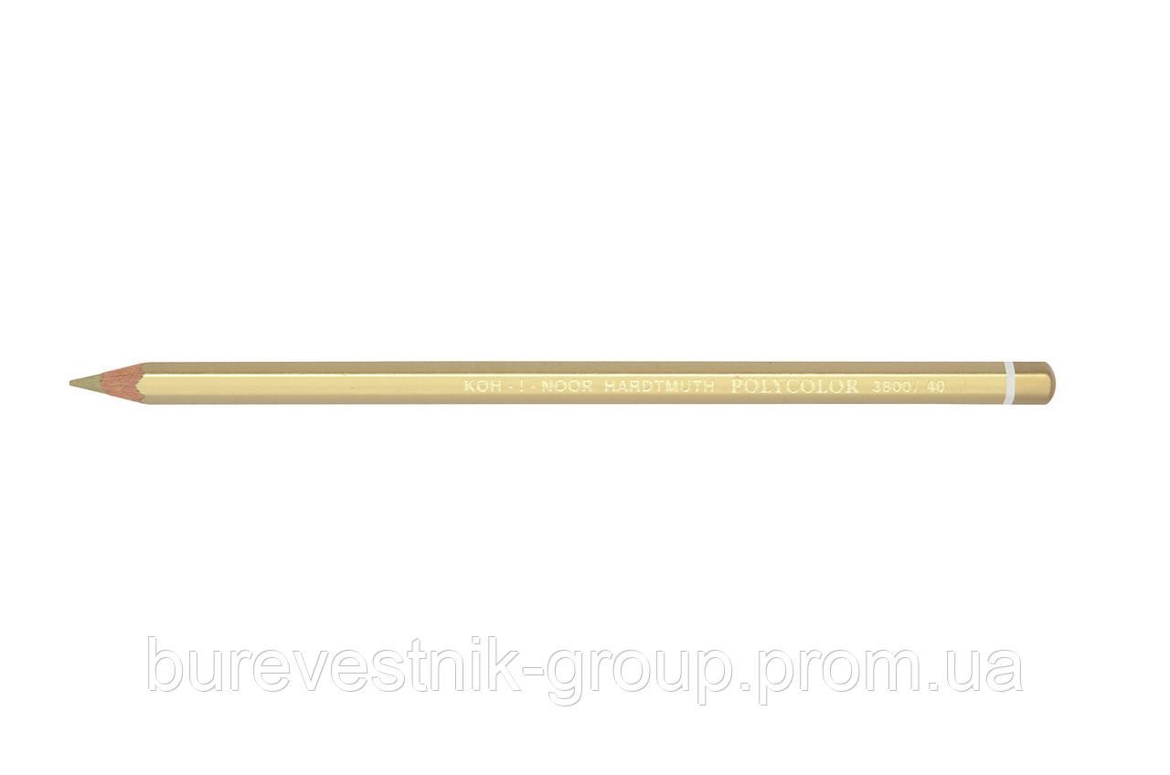 """Цветной художественный карандаш Koh-I-Noor """"Polycolor"""" STANDARD GOLD (3800/40)"""