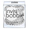 Резинка-браслет для волос Invisibobble Power Crystal Clear (3шт) средние , фото 3