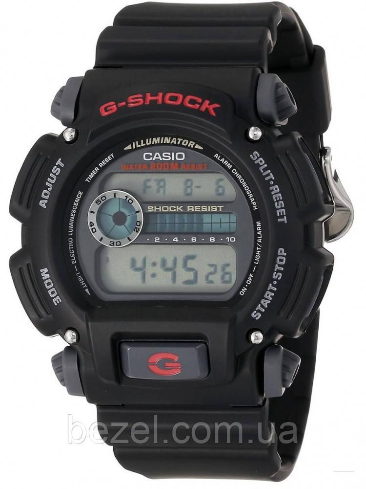Мужские часы Casio G-Shock DW9052-1V Касио водонепроницаемые японские часы