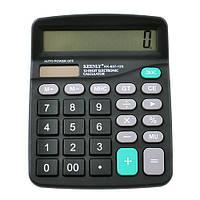 Калькулятор KK-837-12S,  двойное питание
