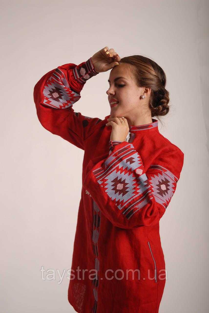 Вышитое платье бохо вышиванка лен, этно, бохо-стиль, вишите плаття вишиванка, Bohemian