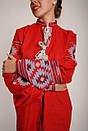 Вышитое платье бохо вышиванка лен, этно, бохо-стиль, вишите плаття вишиванка, Bohemian, фото 6