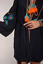 Вышитое платье лен, этно, бохо-стиль, вишите плаття вишиванка, Bohemian, фото 8