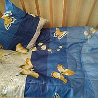 """Одеяло в кроватку детскую""""Бабочка"""""""