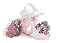 Силиконовые босоножки для девочек DF - shoes 1A3 размеры 24 - 35