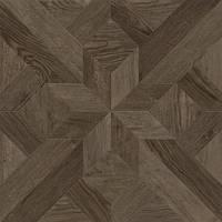 607х607 Керамогранит коллекция пол Dubrava : Terragres коричневый