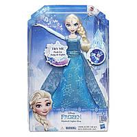 Кукла Disney Frozen Поющая Эльза в светящемся платье (Hasbro B6173)
