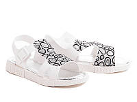 Силиконовые босоножки для девочек DF - shoes 1B4 размеры 24 - 35