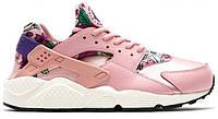 Кроссовки Nike WMNS Air Huarache Run Print Pink, найк хуарачи