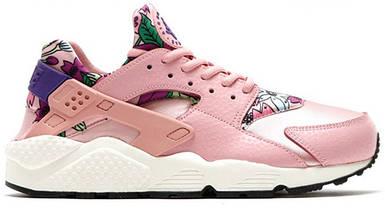 Женские кроссовки Nike WMNS Air Huarache Run Print Pink