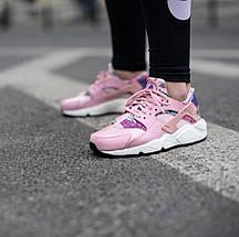 Женские кроссовки Nike WMNS Air Huarache Run Print Pink, фото 2