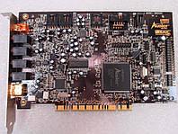 Звуковая карта PCI Creative Audigy SB1394 24-bit SB0090 с ОЧЕНЬ КАЧЕСТВЕННЫМ ЗВУЧАНИЕМ Windows 7 ready