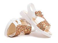 Силиконовые босоножки для девочек DF - shoes 1B5 размеры 24 - 35