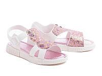 Силиконовые босоножки для девочек DF - shoes 1B6 размеры 24 - 35