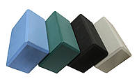 Йога блок/блок для йоги, 22*14.5*10 см, разн. цвета