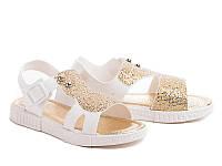 Силиконовые босоножки для девочек DF - shoes 1B8 размеры 24 - 35