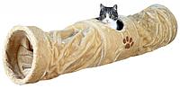 Игровой Туннель с плюша для кошек, щенков Trixie 43001