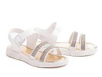 Силиконовые босоножки для девочек DF - shoes 1C2 размеры 24 - 3 5