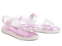 Силиконовые босоножки для девочек DF - shoes 1D3 размеры 24 - 3 5