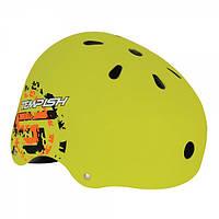 Прочный защитный шлем для роллеров, скейтеров, велосипедистов, байкеров Tempish SKILLET Z, Киев L