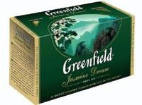 Чай зеленый GREENFIELD Jasmine (25 шт/уп)