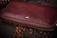 Braun Buffel портмоне-кошелек на молнии, кожа натуральная
